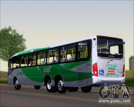 Comil Svelto BRT Scania K310IB 6x2 Sorocaba for GTA San Andreas left view