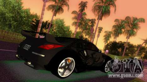 Nissan 350Z Veiside DK for GTA Vice City left view