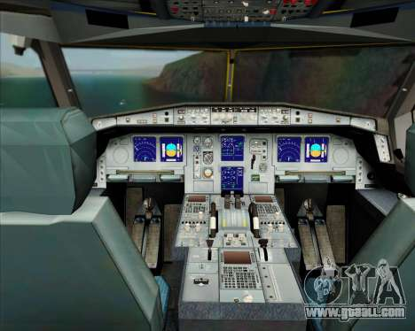 Airbus A330-300P2F DHL for GTA San Andreas interior