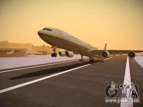 Airbus A340-600 Etihad Airways for GTA San Andreas
