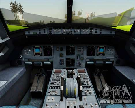 Airbus A320-214 S7-Siberia Airlines for GTA San Andreas engine