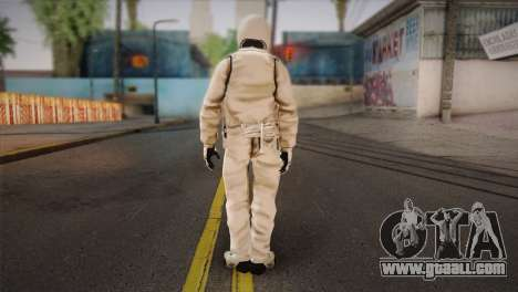 The Stig from Top Gear for GTA San Andreas second screenshot