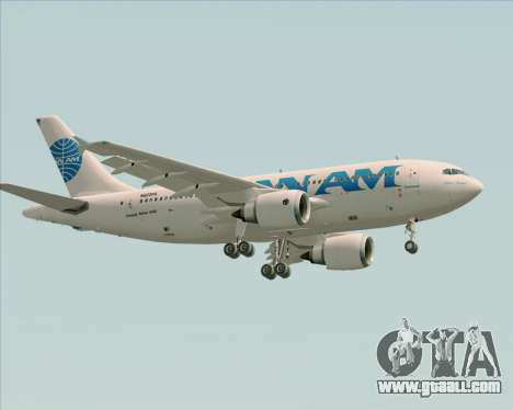 Airbus A310-324 Pan American World Airways for GTA San Andreas bottom view