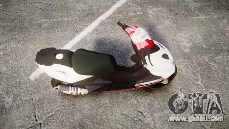 Yamaha Aerox for GTA 4 right view