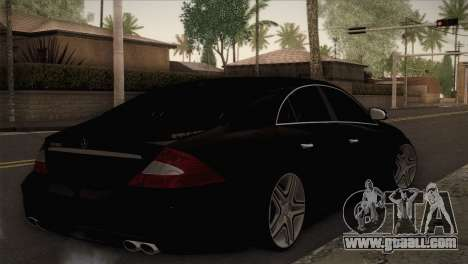 Mercedes-Benz CLS 350 for GTA San Andreas left view