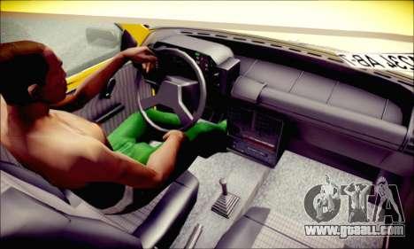 Fiat Uno for GTA San Andreas back view