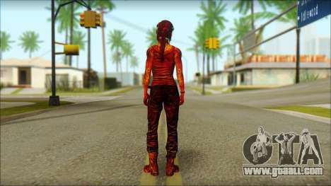 Tomb Raider Skin 9 2013 for GTA San Andreas second screenshot