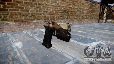 Pistol Glock 20 choco for GTA 4