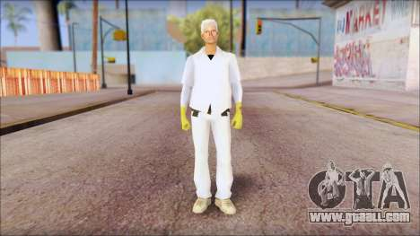 Doc with Radiation Protection Suit for GTA San Andreas