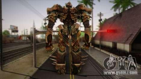 Grimlock v1 for GTA San Andreas second screenshot