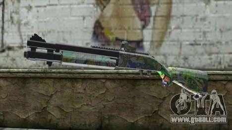 Graffiti Shotgun for GTA San Andreas