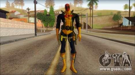 Xmen Deadpool The Game Cable for GTA San Andreas