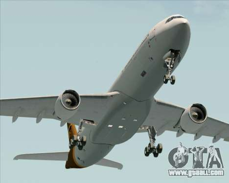Airbus A330-300P2F UPS Airlines for GTA San Andreas back view