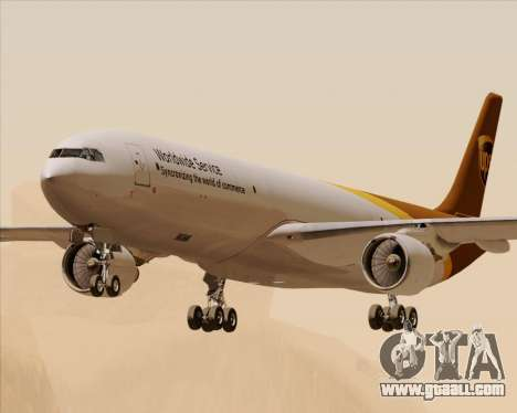 Airbus A330-300P2F UPS Airlines for GTA San Andreas