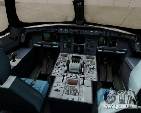 Airbus A350-941 Japan Airlines for GTA San Andreas interior