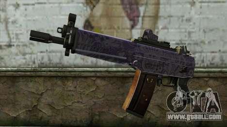 Graffiti MP5 for GTA San Andreas