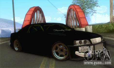 Toyota Chaser Drift 2JZ-GTE for GTA San Andreas
