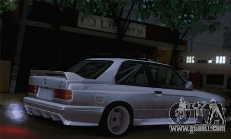 BMW E30 for GTA San Andreas left view