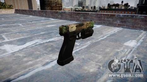 Pistol Glock 20 ronin for GTA 4 second screenshot