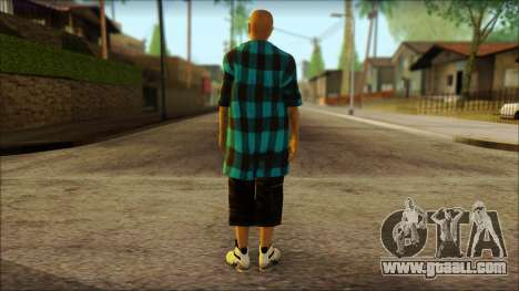 Los Aztecas Gang Skin v3 for GTA San Andreas second screenshot