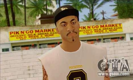 Vagos from GTA 5 Skin 1 for GTA San Andreas third screenshot