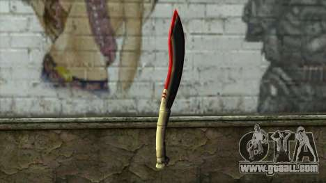 Fang Blade from PointBlank v1 for GTA San Andreas second screenshot
