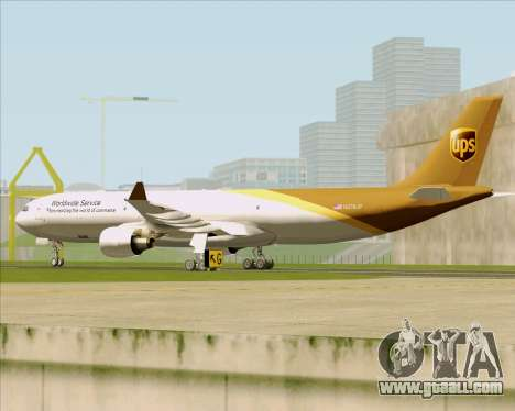 Airbus A330-300P2F UPS Airlines for GTA San Andreas side view