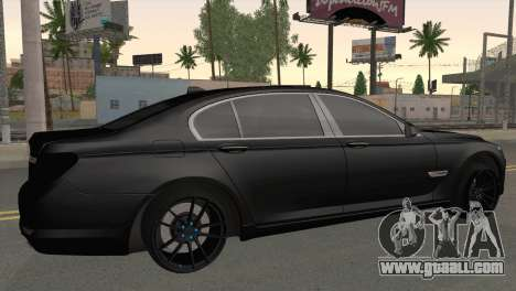 BMW 760 for GTA San Andreas left view