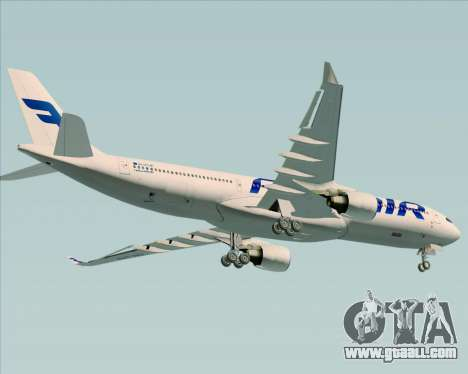Airbus A330-300 Finnair (Current Livery) for GTA San Andreas wheels