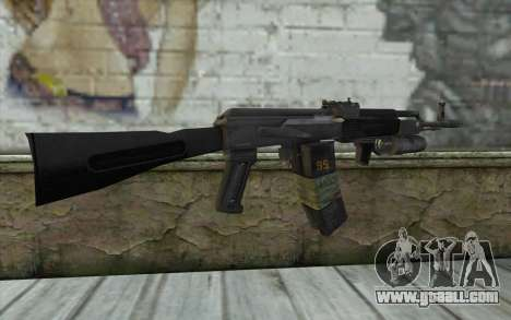 AK-101 with secure our (Battlefield 2) for GTA San Andreas second screenshot