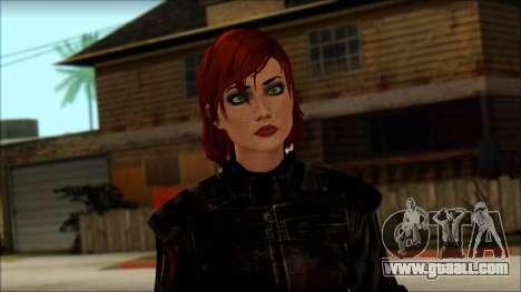 Mass Effect Anna Skin v9 for GTA San Andreas third screenshot