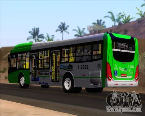 Caio Induscar Millennium BRT Viacao Gato Preto for GTA San Andreas back left view