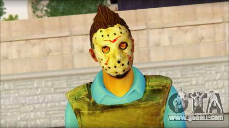 Skin Sicario GTA V By Cesar Hardy for GTA San Andreas third screenshot