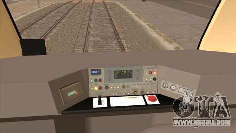 LRT-1 for GTA San Andreas right view