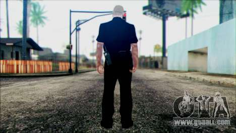 Officer Carver from Cutscene for GTA San Andreas second screenshot