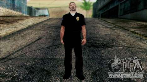 Officer Carver from Cutscene for GTA San Andreas
