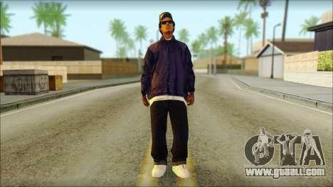 Eazy-E Blue Skin v1 for GTA San Andreas