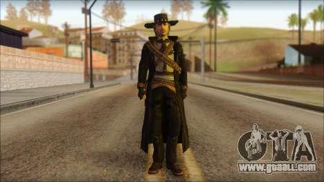 Ray McCall Gunslinger for GTA San Andreas