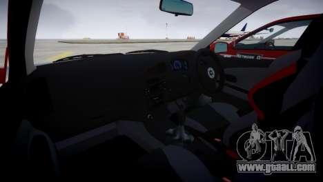 Mitsubishi Lancer Evolution VI Rally for GTA 4 right view
