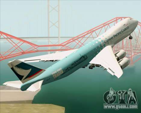 Boeing 747-8 Cargo Cathay Pacific Cargo for GTA San Andreas