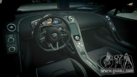 McLaren 650S Spider 2014 [EPM] Continental for GTA 4 inner view