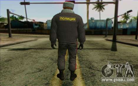 Police In Russia's Skin 4 for GTA San Andreas second screenshot