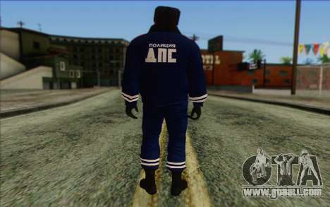 DPS Skin 2 for GTA San Andreas second screenshot