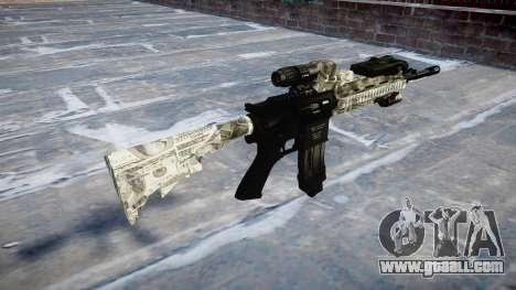Automatic rifle Colt M4A1 benjamins for GTA 4 second screenshot