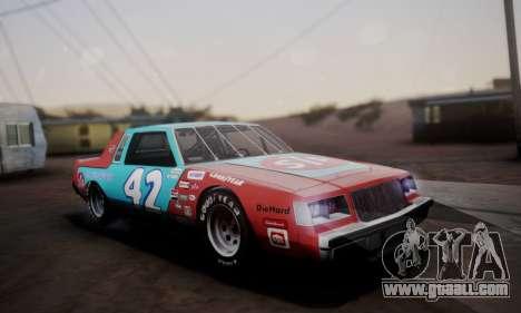Buick Regal 1983 for GTA San Andreas interior