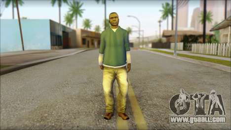 Franklin from GTA 5 for GTA San Andreas