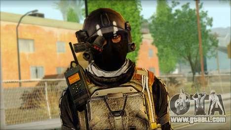 Mercenary (SC: Blacklist) v2 for GTA San Andreas third screenshot
