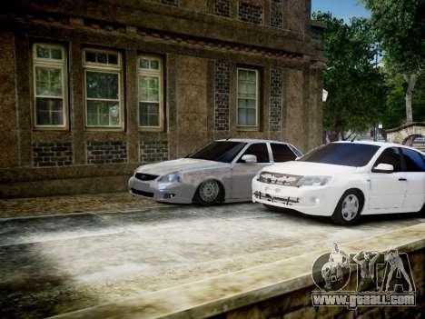 VAZ 2170 for GTA 4 left view