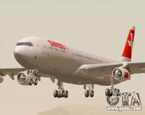 Airbus A340-313 Swiss International Airlines for GTA San Andreas