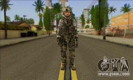 Task Force 141 (CoD: MW 2) Skin 2 for GTA San Andreas